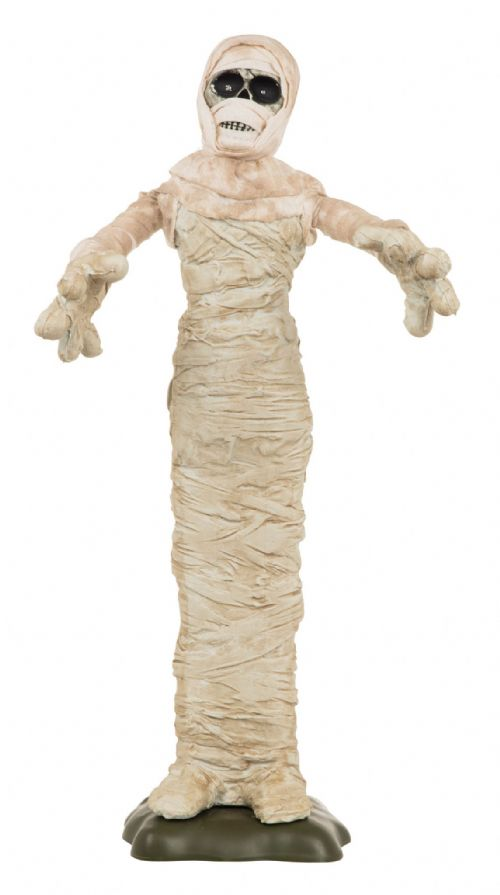 "Halloween Mummy 28"" Light-Up + Sound Trick Or Treat Party Decoration"